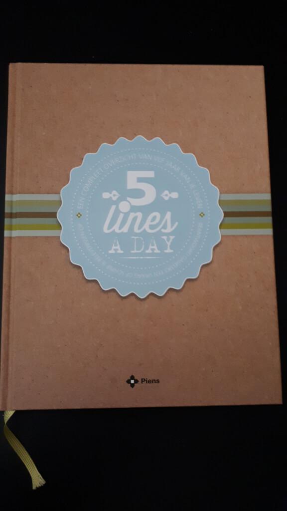 5 line a day boek