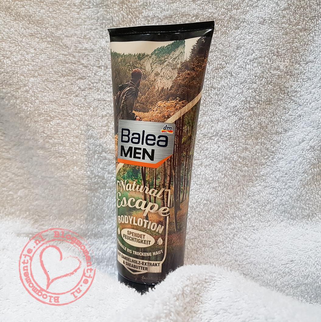Balea bodylotion voor mannen
